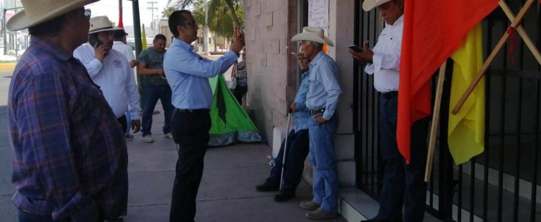 Toman Campesinos Y Ejidatarios Instalaciones De Sedatu, En Hermosillo