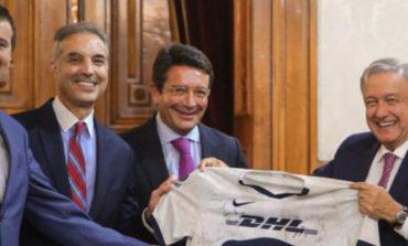 Presidente anuncia inversión millonaria de DHL en México