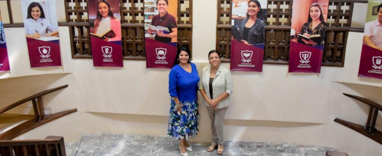 Asiste Alcaldesa María del Rosario Quintero Borbón al recorrido de las instalaciones de Universidad Vizcaya de las Américas, Campus Navojoa.