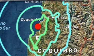 Así se vivió el sismo de magnitud 6 registrado en Chile