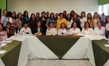 Asiste Instituto de la Mujer a taller sobre el fortalecimiento de capacidades de autoridades