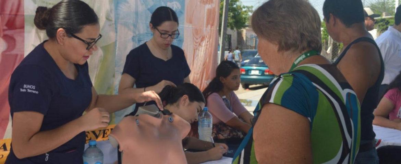 Realizan jornadas comunitarias de Bienestar Social y Unison