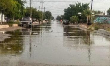 Supervisan puntos críticos de Huatabampo por lluvias