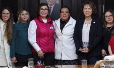 Sostiene Primera Dama de Cajeme reunión de trabajo con Sistema DIF Nacional
