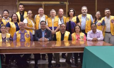 Reconoce Alcalde Labor Altruista Del Club De Leones En Cajeme