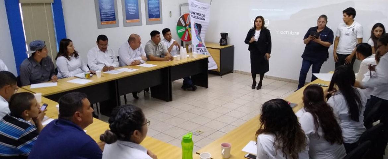 Continúa Salud Sonora con el taller para manejo de estrés en empresa