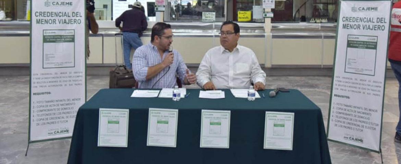 """Presenta Mariscal Alvarado Programa """"Credencial del Menor Viajero"""""""