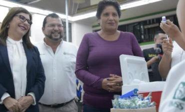 Implementa Ayuntamiento Campaña De Vacunación Gratuita En Central De Autobuses.