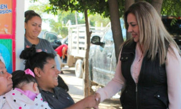 Da Diputada Diana Platt Banderazo A Obras De Pavimentación A Calles Del Tianguis Los Olivos*