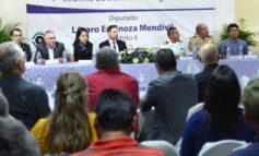 Presenta el diputado Espinoza Mendívil, su primer informe legislativo en el distrito II