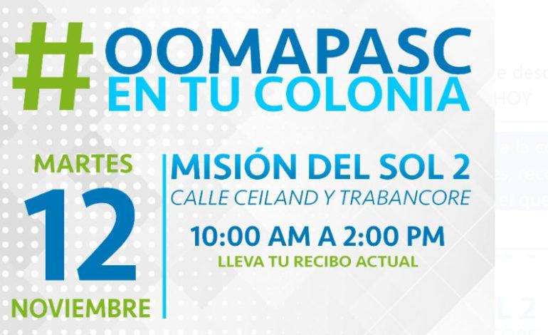 OOMAPAS de Cajeme llevará sus servicios a la colonia Misión del Sol 2