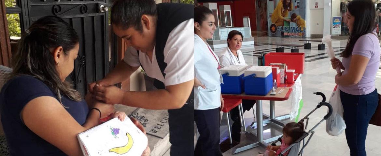 Exhorta Salud Sonora a padres de familia para que sus hijo sean vacunados contra la Poliomielitis