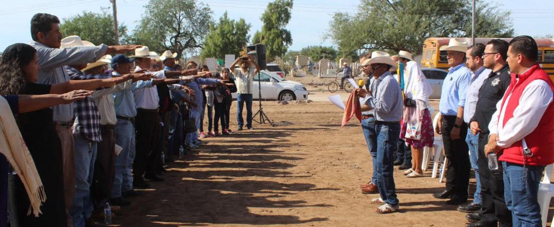 Presidente Ramón Díaz asiste a la firma de convenio tranversal ALVI y a la toma de protesta a comités MAS YOREMES