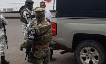 En Operativo Guardia Nacional En La Colonia Hidalgo