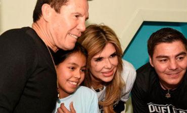Recorre Gobernadora el HIES junto a Julio César Chávez y  Travieso Arce