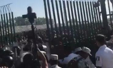 Migrantes Se Enfrentan Contra Guardia Nacional