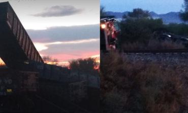 Descarrila Del Tren Cerca Del Poblado De Vicam, Sonora: Hay Una Persona Muerta Y Tres Lesionados
