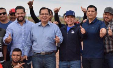 Inaugura Alcalde Liga Recreativa De FútBol De La Amistad Y La Convivencia Del Valle Del Yaqui