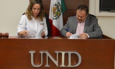 Firma OOMAPASC Convenio De Colaboración Con UNID