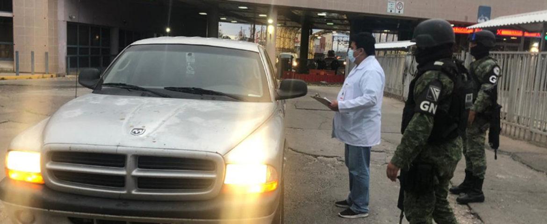 Realiza Salud Sonora acciones en la frontera contra el Covid-19