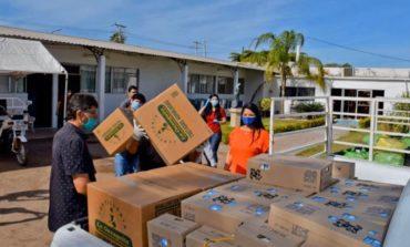 Envía alcaldesa despensas a comunidades de comisaría Rosales