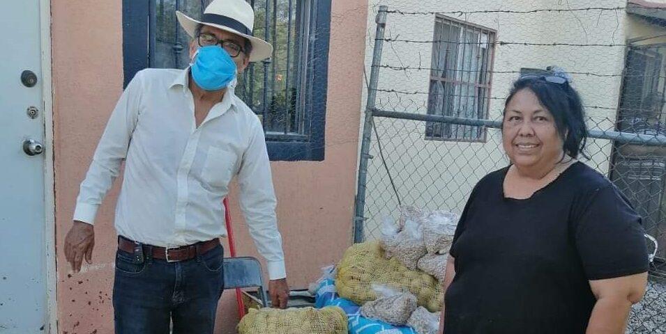 El Diputado Miguel Ángel Chaira Ortiz, continúa con visitas domiciliadas en apoyo a las familias sonorenses.