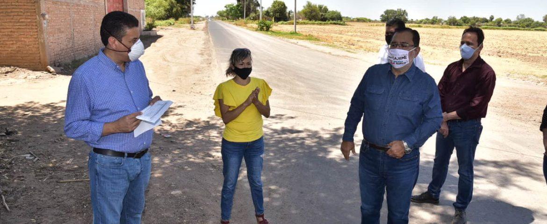 CONTINÚA ALCALDE DE CAJEME CON LA ENTREGA DE INFRAESTRUCTURA SANITARIA Y LA PUESTA EN MARCHA DE OBRAS SOCIALES