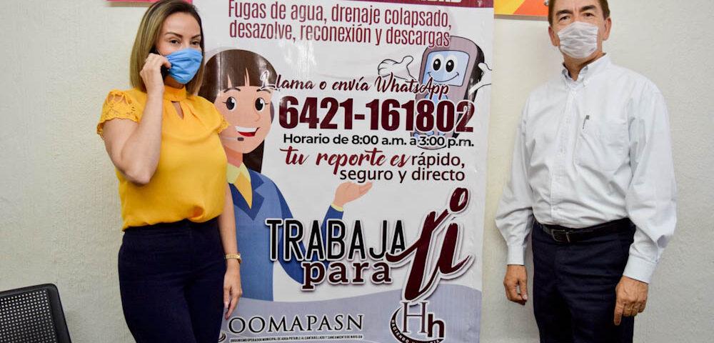 Inaugura OOMAPASN Línea de Atención Telefónica