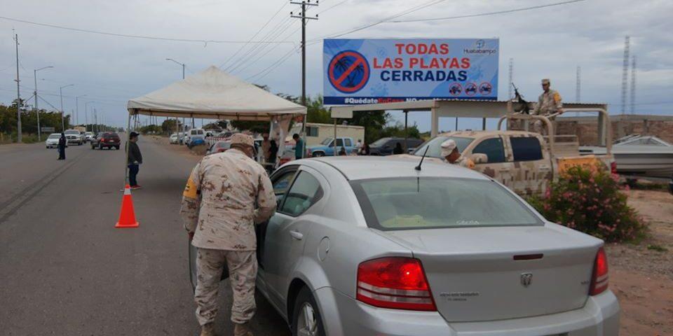 Entrada y Salida al Municipio de Huatabampo queda Restringido hasta nuevo aviso