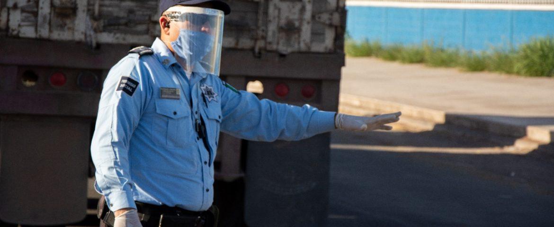 REFUERZAN MEDIDAS PREVENTIVAS EN POLICÍAS MUNICIPALES ANTE COVID-19