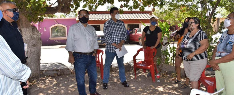 Lleva Alcalde Mariscal Alvarado Obra De Pavimentación A La Comisaría De Cócorit