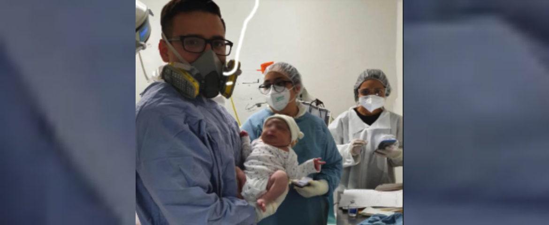 Nace primer bebé de madre con Covid-19 en medio de pandemia en SLRC
