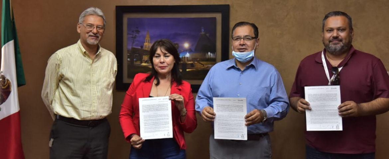 Firma Alcalde Convenio De Colaboración Con Insus Para Brindar Certeza Jurídica Patrimonial A Familias Cajemenses