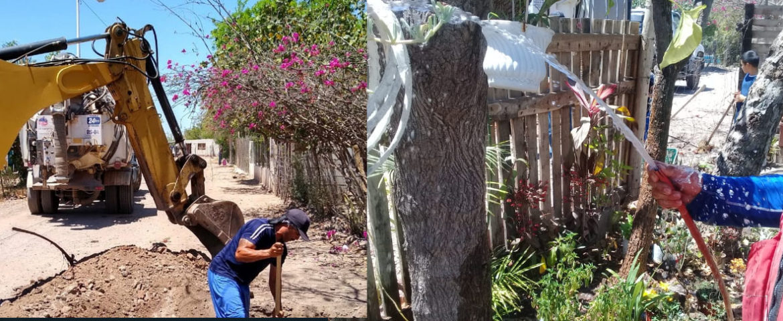 Atiende OOMAPASC A Loma De Guamuchil