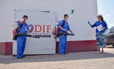 Sanitizan instalaciones de DIF Municipal de Navojoa