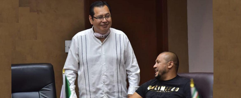 Reconoce Alcalde Gestiones Del Diputado Orlando Salido Rivera