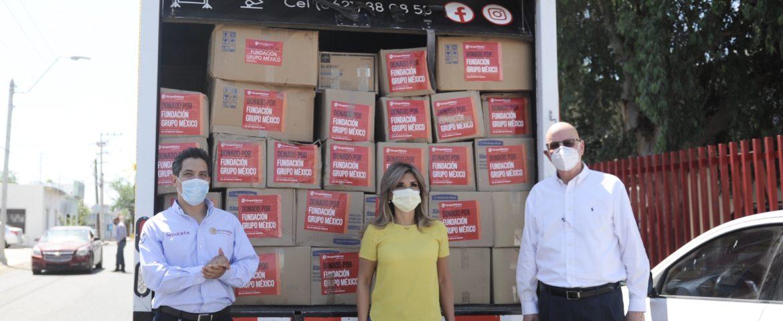 Recibe gobernadora 93 ventiladores y equipo hospitalario para Sonora