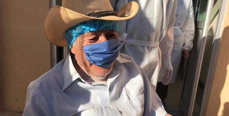 Se recupera de Covid-19 adulto mayor en Puerto Peñasco