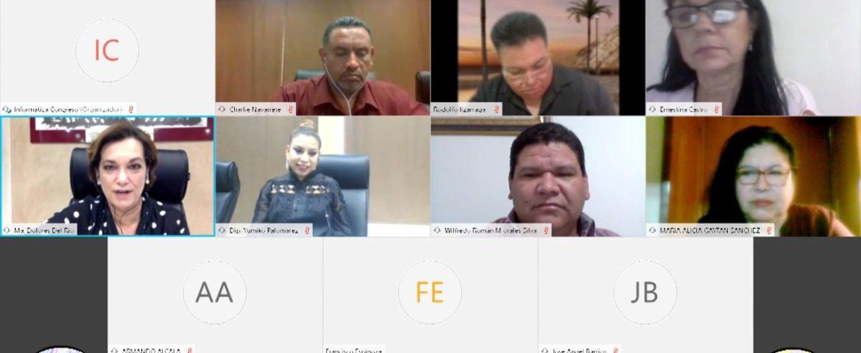 Diputadas morenistas, realizan entrevistas  de selección para el  Comité de Participación Ciudadana SEA