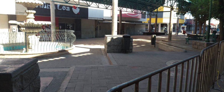 Cierran andador de Mercado Municipal como medida de prevención ante Covid-19