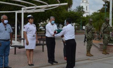 Presidente Ramón Díaz encabeza honores por el día de la Marina