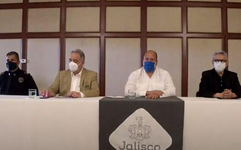Alfaro anunció los primeros detenidos por la muerte de Giovanni y la toma de la policía de Ixtlahuacán de los Membrillos