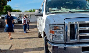 Llega a San Ignacio Caravana de la Solidaridad