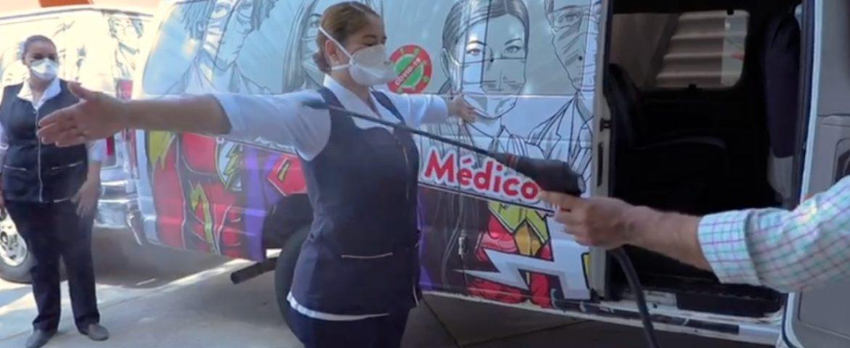 Apoya Salud Sonora con transporte a personal en contingencia COVID-19
