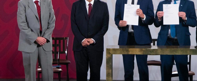 PRESIDENTE ENCABEZA FIRMA DE ACUERDO CON LA UNOPS PARA COMPRA DE MEDICAMENTOS Y EQUIPO MÉDICO EN EL EXTRANJERO