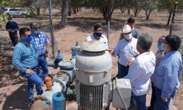 Presidente Ramón Díaz y comisión del agua realizan recorridos por los pozos que abastece de agua al municipio