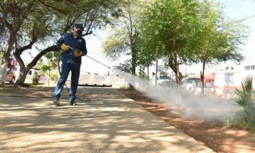 Limpieza de espacios públicos ayuda a proteger salud de hermosillenses: Celida López