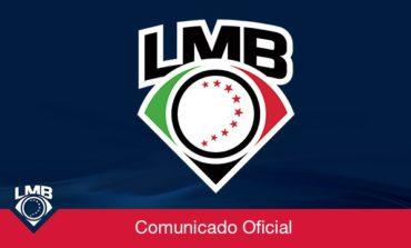 La Liga Mexicana de Beisbol y los 16 equipos , toman la difícil decisión de no llevar a cabo la temporada 2020.