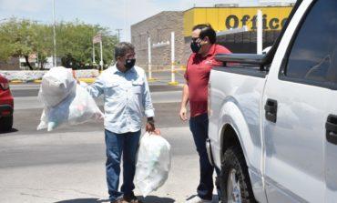 Reciben 6 toneladas de material al reactivar reciclacentros