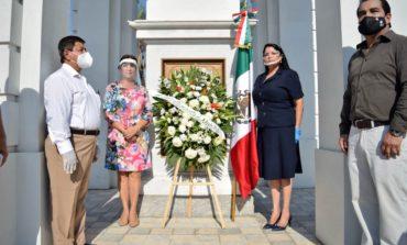 Monta Gobierno Municipal guardia de honor por 92 aniversario luctuoso de Álvaro Obregón
